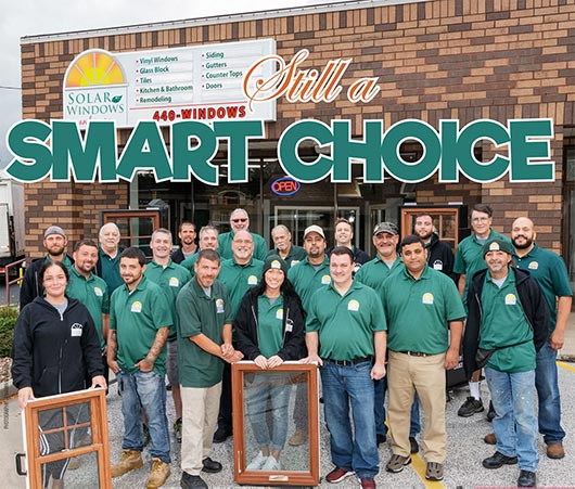 Smart Choice Windows & More installs quality windows, doors, glass block, siding, and home remodeling services at the most affordable price.